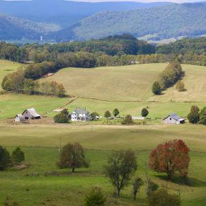 rural area in Southwest VA